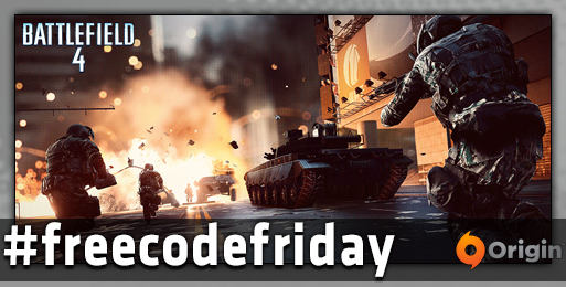 Welcome to #freecodefriday. We have 5 codes for the PC version of #BF4.  FOLLOW & RT by 4pm PT for a chance at one.   http://t.co/vKxwLzApy8