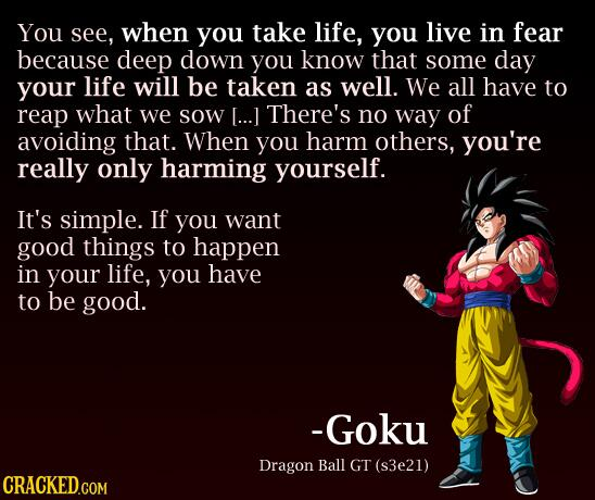 Dragon Ball Z Love Quotes : Cracked.com on Twitter: