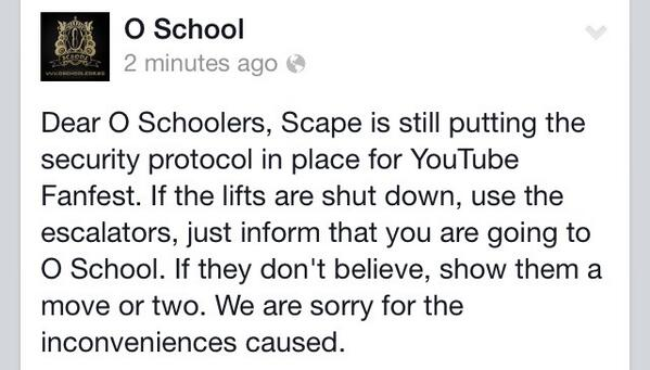 If you're coming to O School this weekend, take note! http://t.co/7xgsmiNiMJ