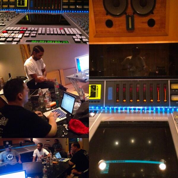 Me and my cousin @nipseyhussle working on a classic #marathon http://t.co/miMglX1wD4