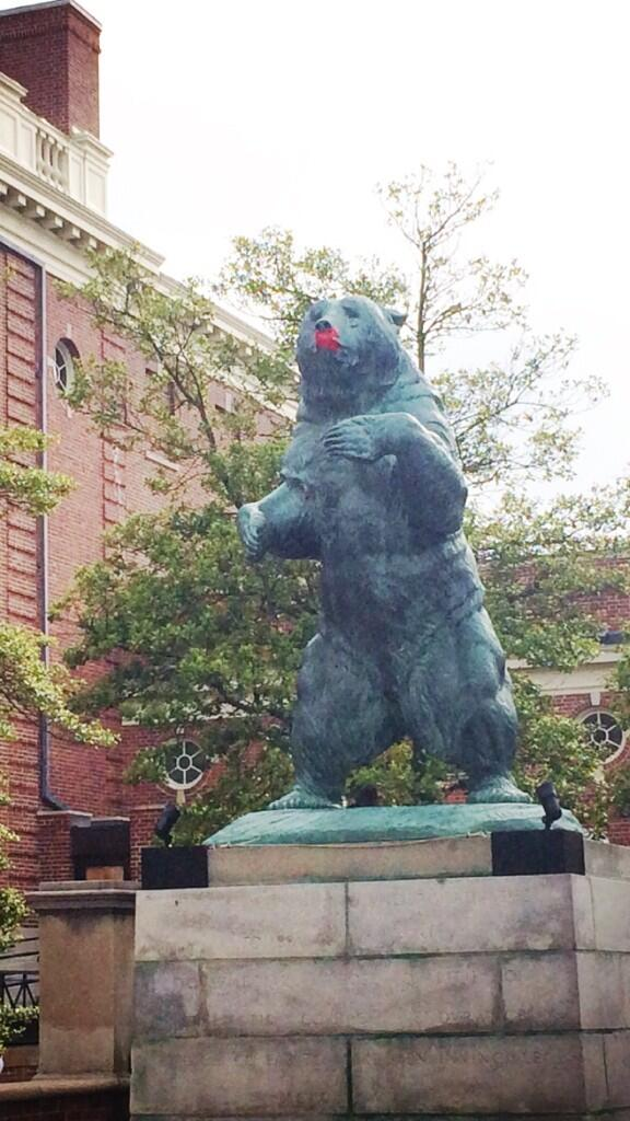 Spotted on the Main Green. #Brown2014 #BrownUniversity #Brown250 #imaginerape0 http://t.co/wT0jd7MSKJ