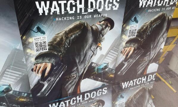 """Hacking is our weapon,"" says hero thug with handgun. #WatchDogs http://t.co/zs3Q0gitH8"