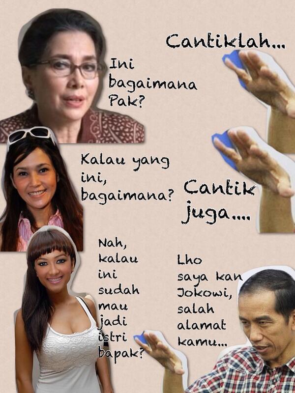 Bisorumongso On Twitter Salah Alamat Joke Kartun Jokowi