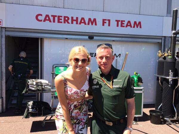 With the very lovely @PixieLott in Monaco - this job has serious perks!!! http://t.co/wG33qS6YTh
