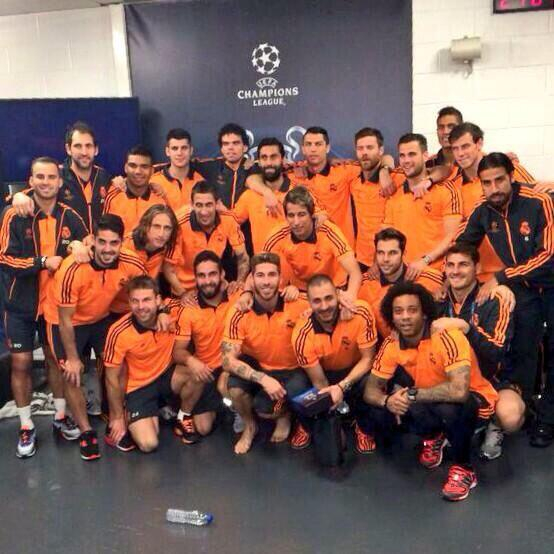 Champions time!! #HalaMadrid http://t.co/B9Zwy8qL7p