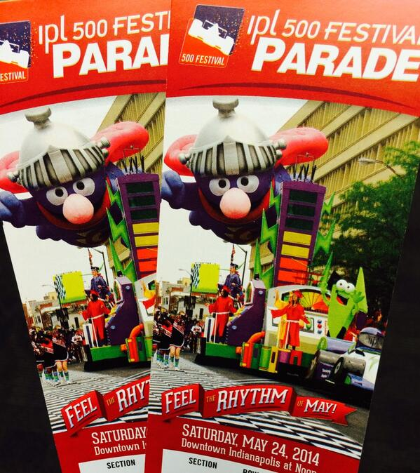 Have fun at the @500Festival parade today #ISE14 participants! We can't wait to see the pics http://t.co/45wr3sf2wM