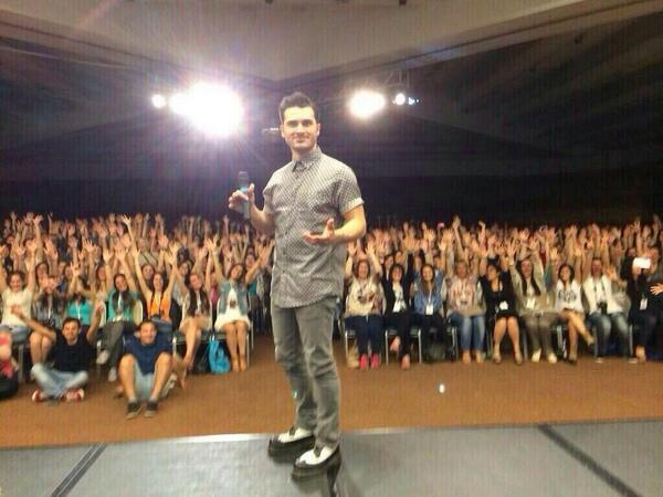 @mkmalarkey and friends in Rome #LBItaCon2_0 http://t.co/Sl6PKgMcPS