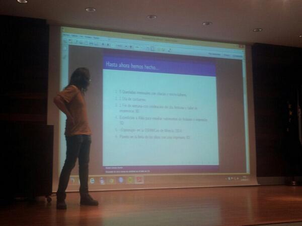 Resumen del taller de a hardware abierto http://t.co/sTO4PiyIUp