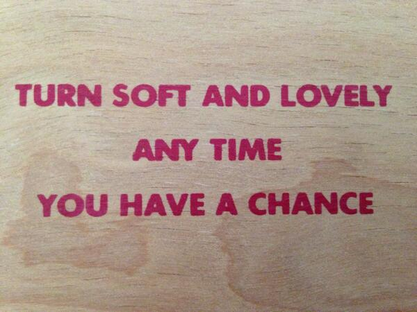 Words to live by. #jennyholzer http://t.co/yrQFcT89NY