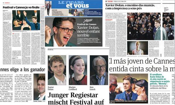 Depuis une semaine, Xavier Dolan est l'individu qui a fait le plus rayonner le Québec dans le monde. http://t.co/3hwEUxdtJK
