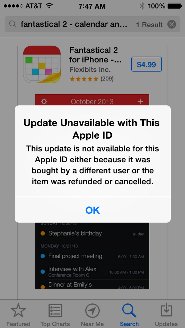 The App Store no longer allows people who received a refund to reinstall or update the app with a clear message: http://t.co/zR5drjVCke