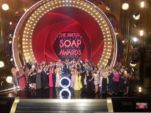 The rumours are true... you won us FOUR #SoapAwards, including BEST SOAP! For the first time EVER! #DoTheH http://t.co/LZGWoyJhxP