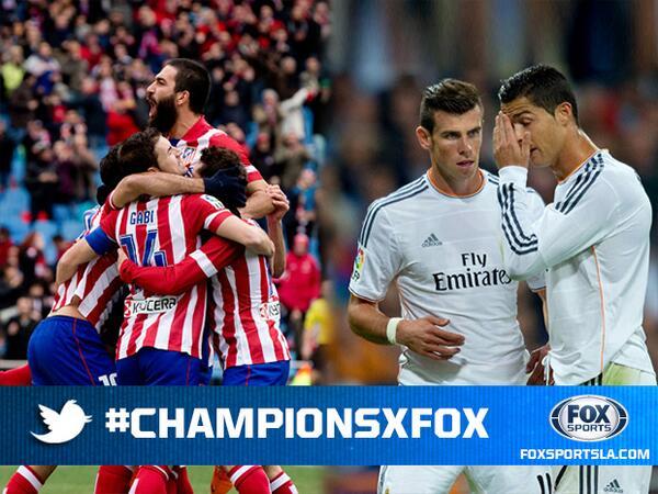 Dale RT si crees que el Real ganará la décima. Dale Fav si crees que el Atlético se llevará su primera #ChampionsxFOX http://t.co/In5hM6N0yv