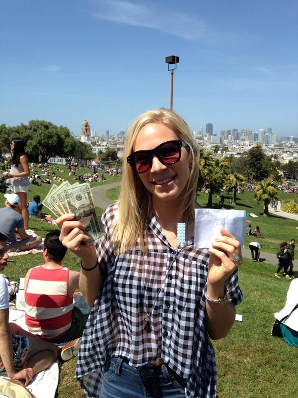 Thank you @HiddenCash - made our day! #onlyinsf #dolorespark http://t.co/ZEFUldDCaF