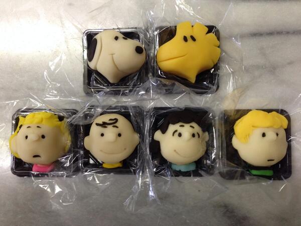 ピーナッツ#スヌーピー #SNOOPY #和菓子で作ってみた pic.twitter.com/U7NoM0Hb1H