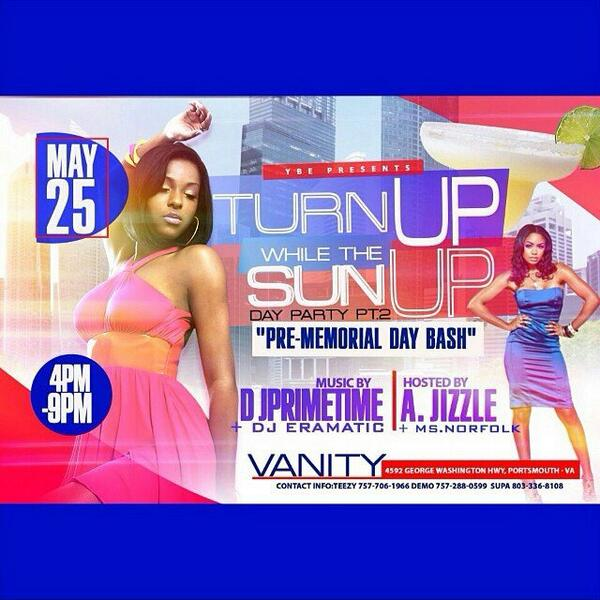 Tomorrow Vanity Day Party