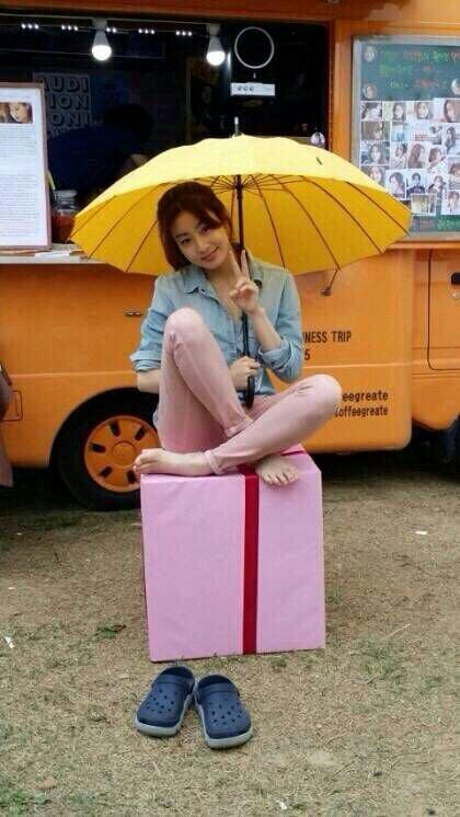 Leeteuk and kang sora actually hookup