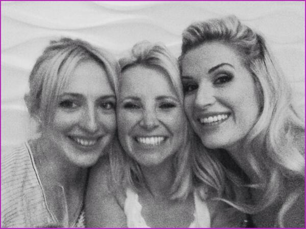 Me @carleystenson &@alibastian had our own soaps awards party last night. Catch up,prosecco&pizza! Love these girls