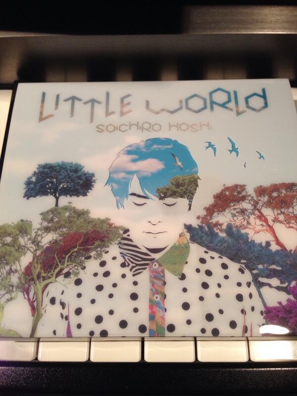 保志総一朗君のアルバム「Little World」。 「悲壮の恋歌」を編曲しました。 和テイストでドラマティックな展開です。 http://t.co/cYrUdugAm1