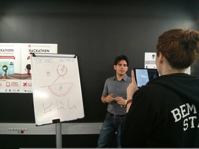 Adlen pitching for draw my app