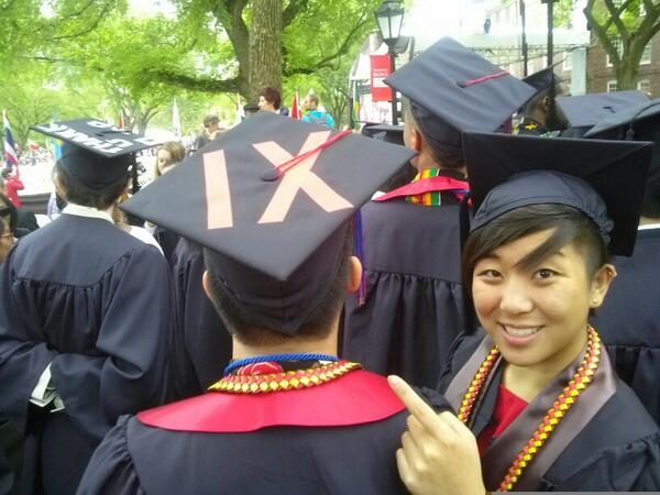 .@suey_park Red IXs on caps for Title IX complaint filed against @BrownUniversity #imaginerape0 #Brown2014 http://t.co/Nt3yw0eiw8