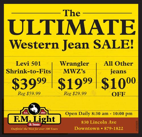 Twitter / fmlights: We're having a western jean ...