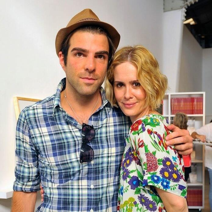 Twitter / RTPerfection: Zachary Quinto and Sarah Paulson ...
