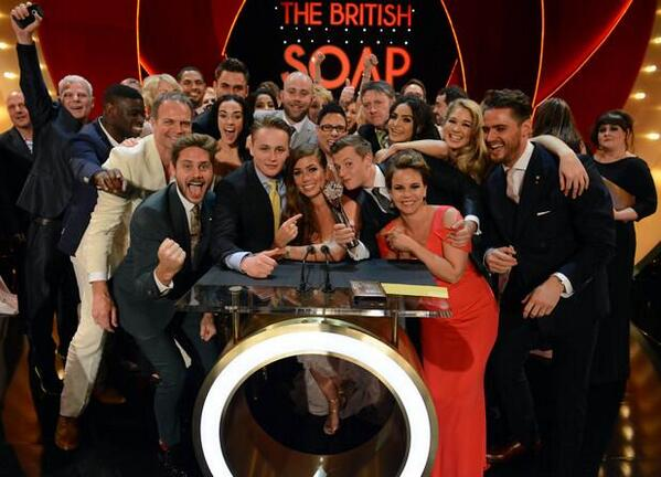 Unbelievably proud of @hollyoaks winning at last night @SoapAwards   Truly the best TEAM in the world :) http://t.co/RBIZ0Vtgpa