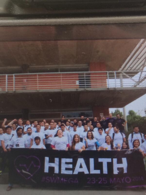 Terminando los pitches de la vertical de salud en #SWMEGA http://t.co/H9zNQELwss