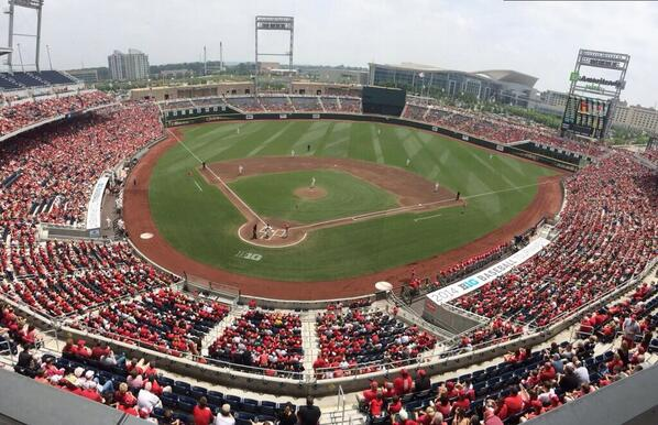 19,965 fans at today's #B1GBaseball Tourney final, largest single-game conference tourney attendance in NCAA history. http://t.co/e8sPQvFe3j