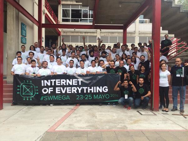 Terminando la vertical de internet of everything en #SWMEGA http://t.co/p6guBmRvFS