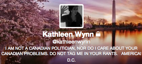 So this is great. Apparently @kathleenwynn is learning more about #onpoli than your average American would like. http://t.co/FxGVAlZfAb