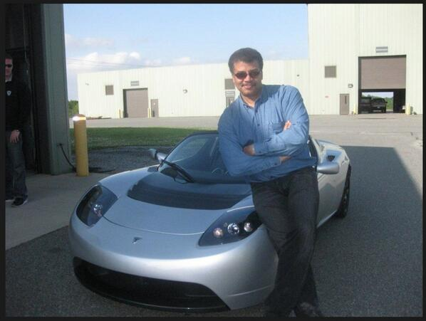 photo of Neil deGrasse Tyson  - car
