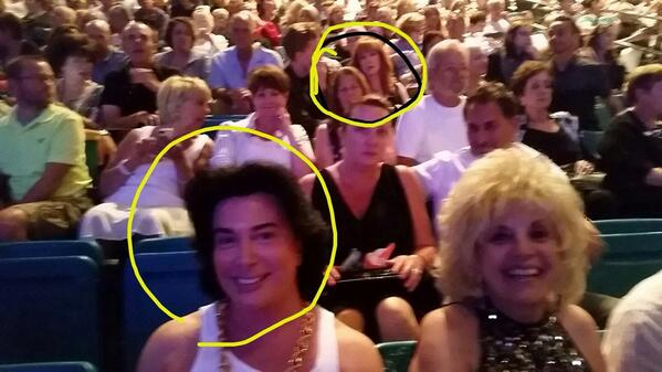 You know you're on the A List when you're 4 rows ahead of the Queen of the D List Kathy Griffin at the  #Cher concert http://t.co/dza43kdL8N