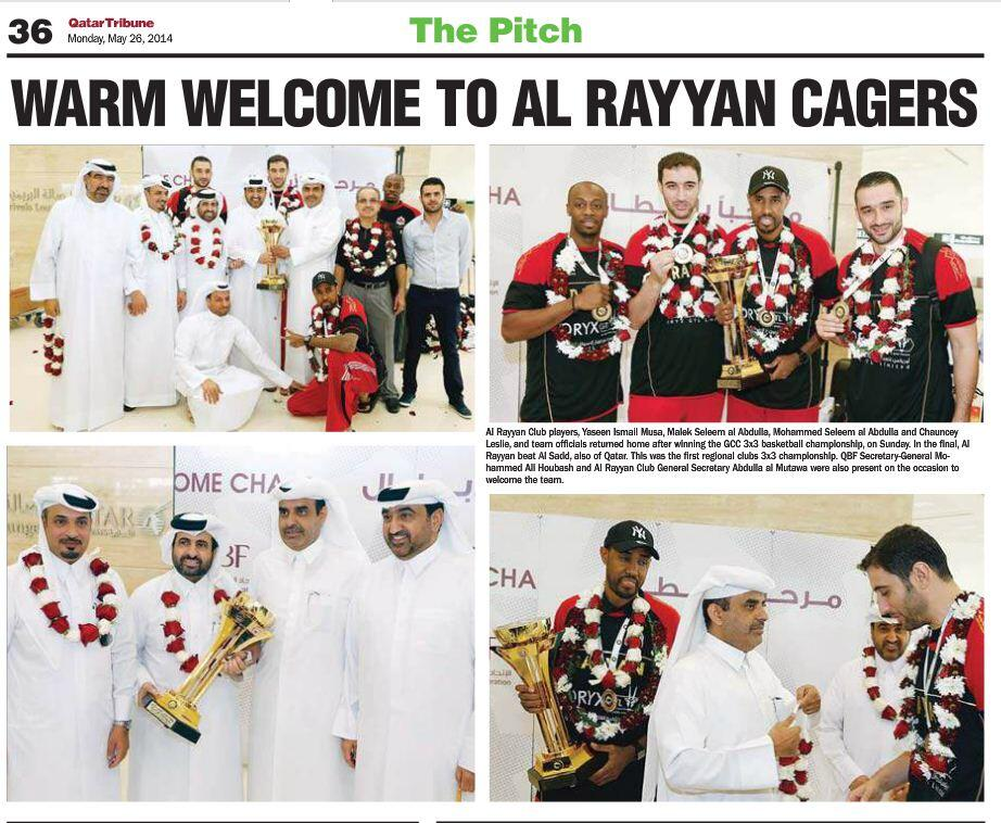 Al Rayyan Bag Gcc 3x3 Basketball Title