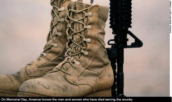 On #MemorialDay, the U.S. remembers the fallen men & women who have served. http://t.co/uhBdaBPTol #5Things #NewDay http://t.co/kHHKbSUra8