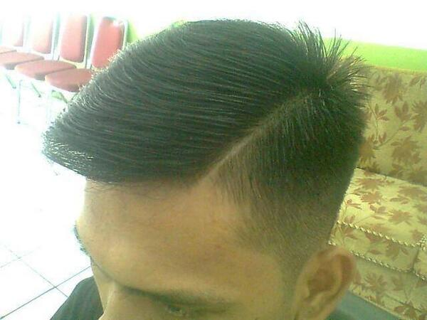 Akri Barbertop On Twitter Slicked Back Undercut Gaya Rambut Dari