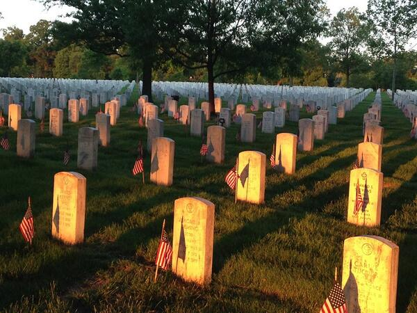 Take some time today to honor all of the men and women who served our country so that we may enjoy our freedom. http://t.co/nUVBaARWDF