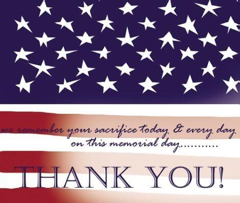 All gave some. Some gave all. Thank you for your service. Happy Memorial Day 2014. http://t.co/fu2l8TNZYB