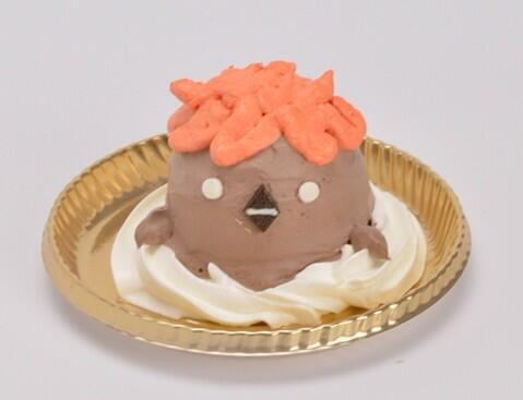 J-WORLDで登場予定!かわいらしいヒナガラスをチョコレートケーキで作っちゃいました!お楽しみに! pic.twitter.com/T6hH1qnDTu