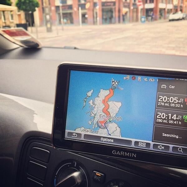 #100happydays #day15 here we go! 278 miles to Thurso! @digCW2014 http://t.co/Xj6Wc4k0aN http://t.co/KzFNa2rbIf