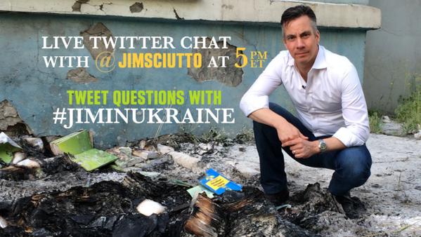 Thumbnail for #JimInUkraine Twitter chat