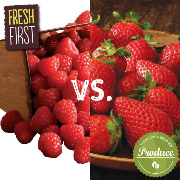 Safeway Canada On Twitter Are You More Of A Raspberry Or Strawberry Person It S A Berry Tough Decision We Know Freshfirst Http T Co Uasybawmkg