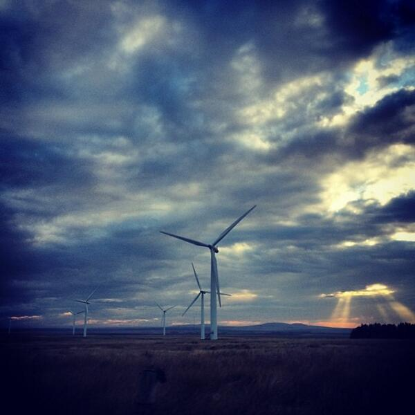 Windfarms outside Thurso http://t.co/cRa9qJjVae http://t.co/kaSVzTe2Tk