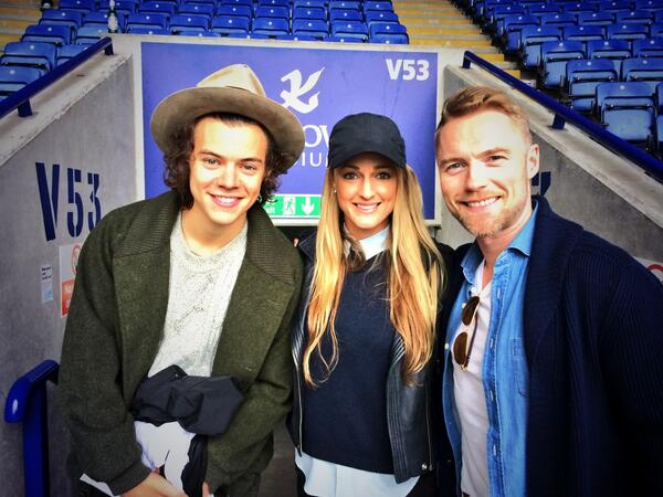 Good to see ya @Harry_Styles well played. Tasty Goal ha ha. http://t.co/k7D1oeb0HI
