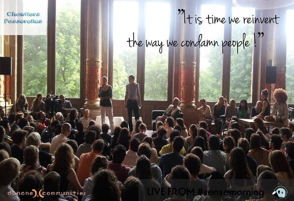 Reinventing the way we condamn people at #sensemorning http://t.co/aD65fER6ZZ