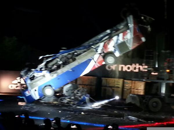Great marketing! Adidas destroy Frances infamous 2010 World Cup bus [Pictures & video]