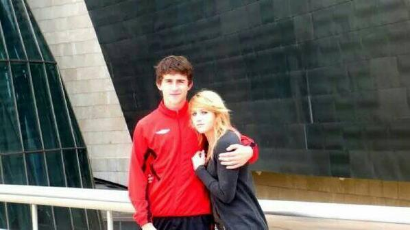Picture of Aymeric Laporte Sister, called Alexia