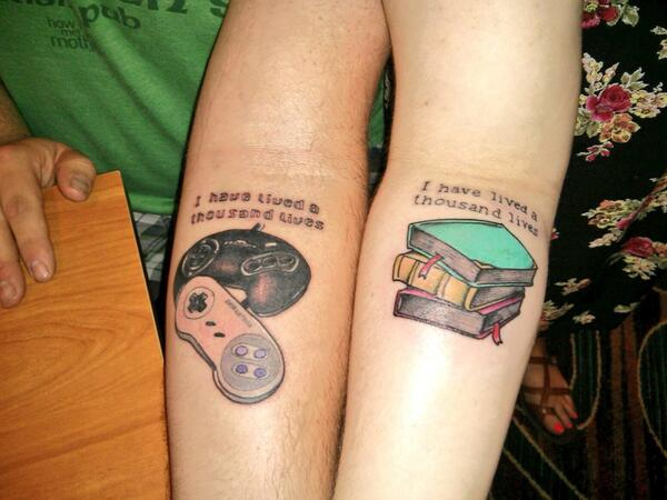 Claire o 39 brien on twitter his and hers matching tattoos for His and her matching tattoos