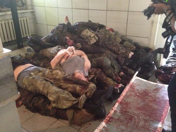 В результате вчерашних столкновений в Донецке погибли 40 человек, 2 из них - мирные жители, - мэр - Цензор.НЕТ 53